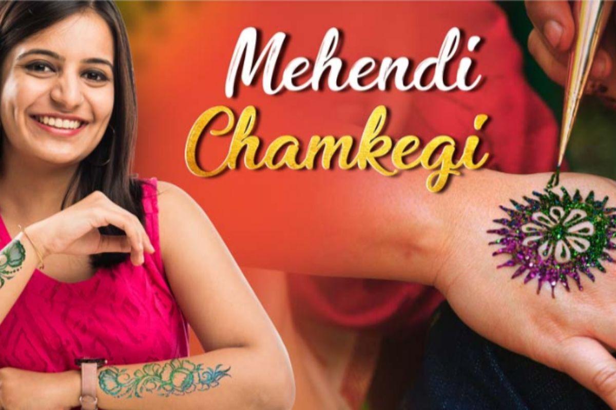 Mehendi Chamkegi- Office Holi Ideas