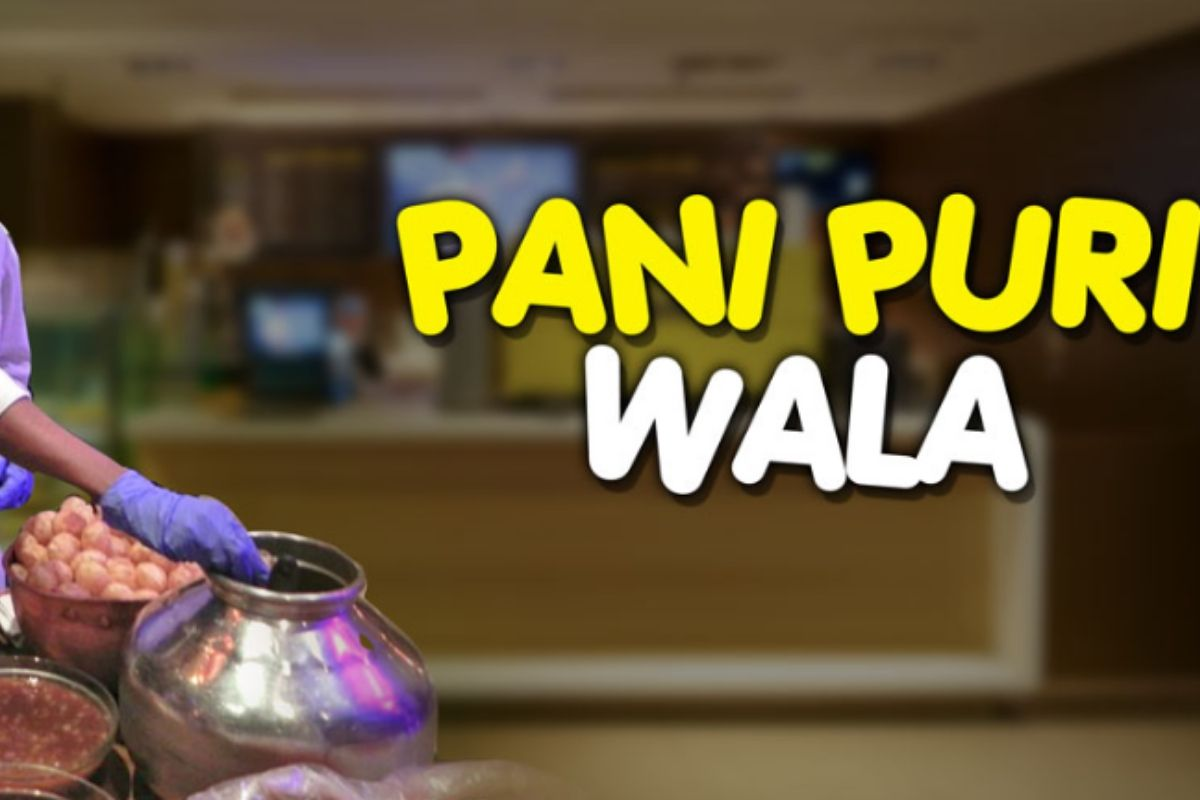 Panipuri Wala- Office Holi Ideas