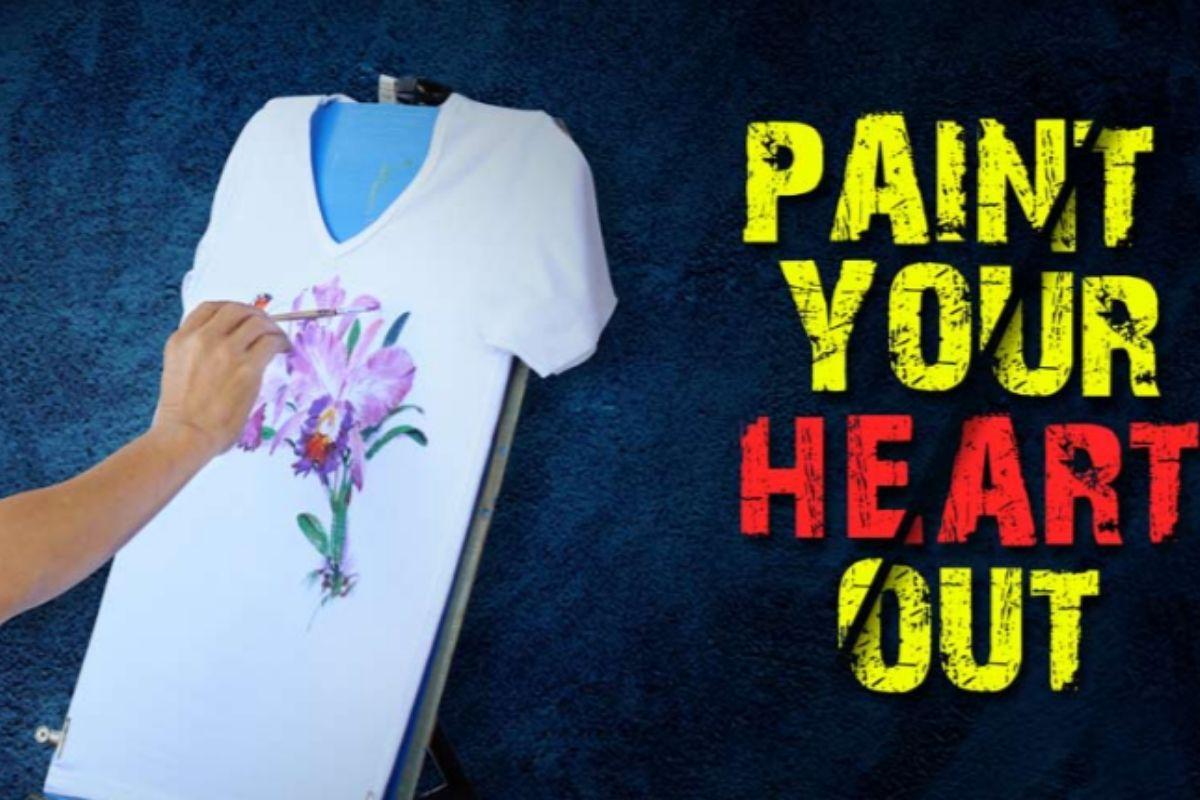 T-Shirt Painting- Office Holi Activity