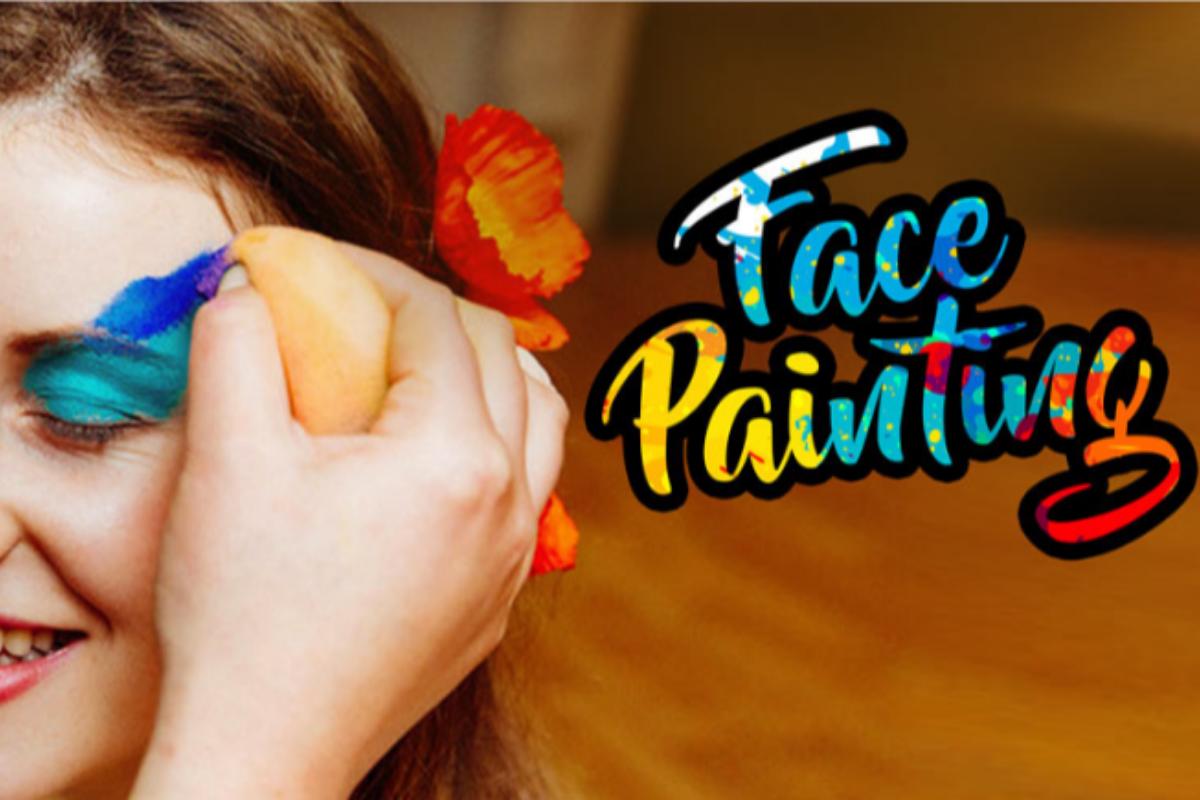Face Painting- Office Holi Ideas