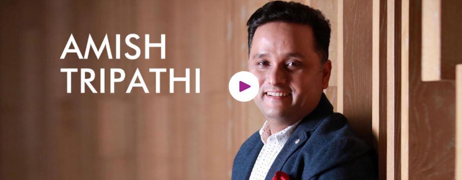 Book Hire Motivational Speaker Amish Tripathi