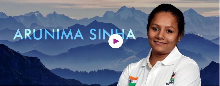 Book Hire motivational speaker Arunima Sinha