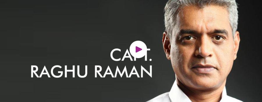 Hire Motivational Speaker Capt. Raghu Raman