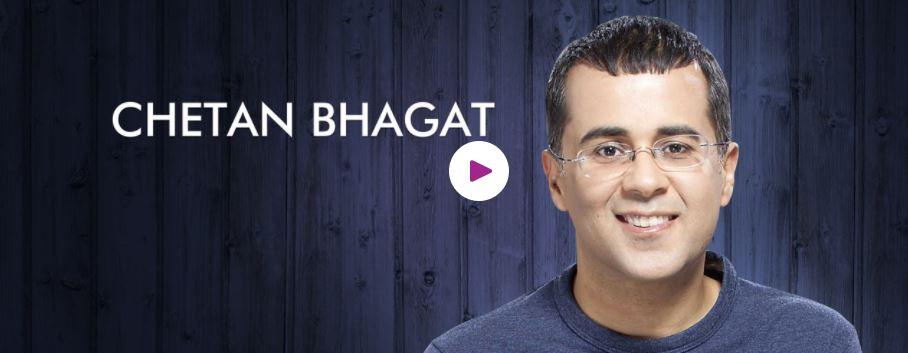 Chetan Bhagat Motivational Speaker