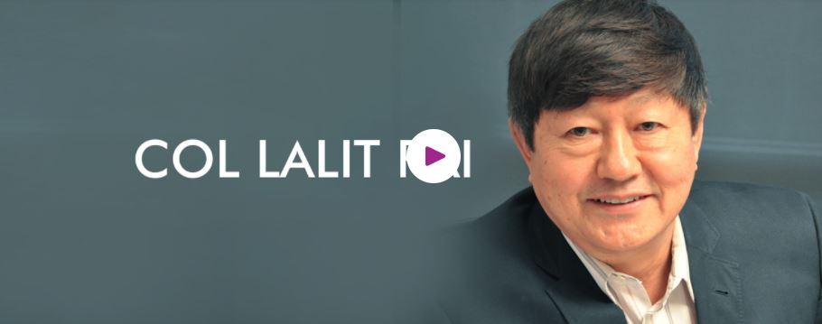 Book Hire Motivational speaker Col. Lalit Rai