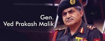 hire book motivational speaker Gen. Ved Prakash Malik