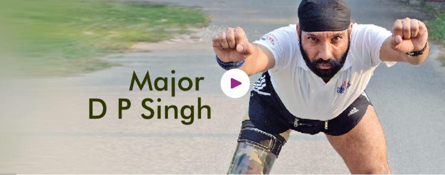 Hire book motivational speaker Major D P Singh