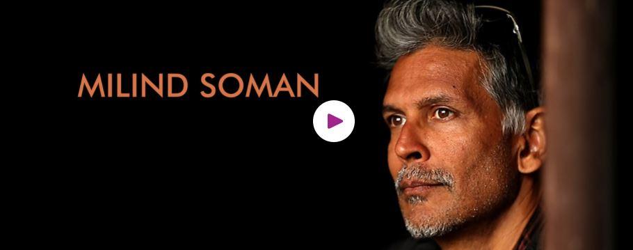 Milind Soman hire Book motivational speaker