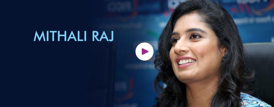 Mithali Raj Motivational Speaker