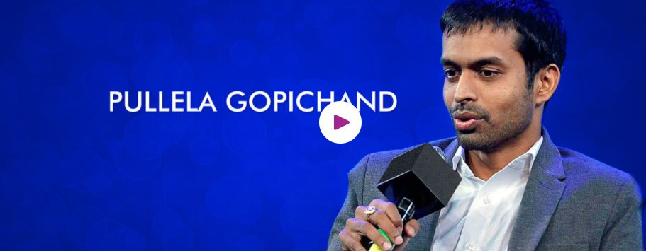Pullela Gopichand motivational speaker