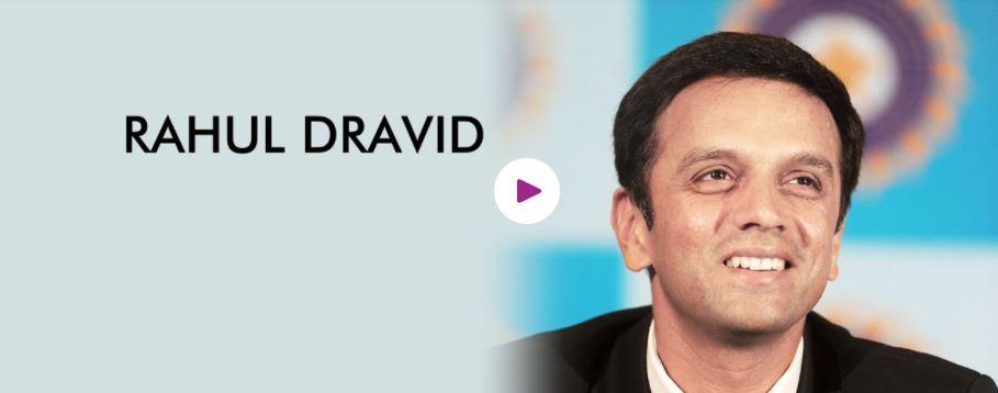 Rahul Dravid Motivational Speaker