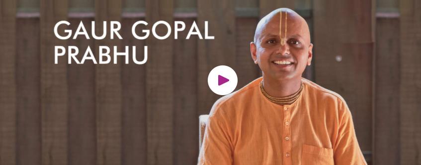 Gaur Gopal Das for motivational speaking