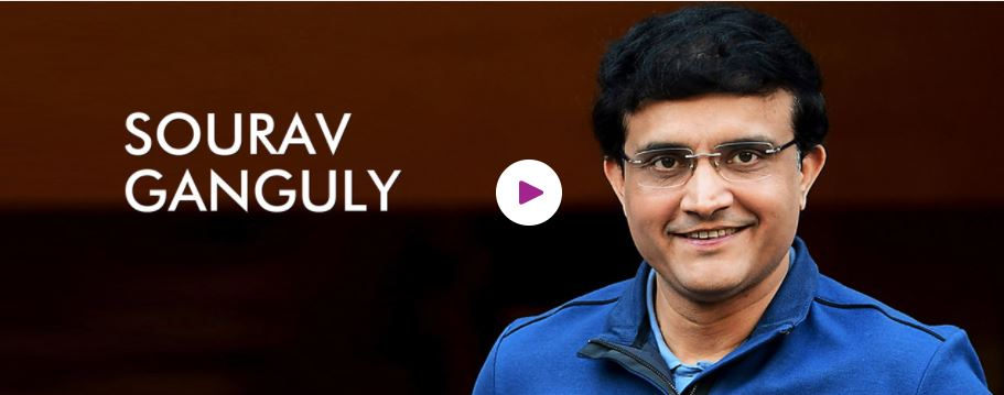 Sourav Ganguly Motivational Speaker For Corporate Events