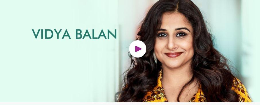 Hire Book Motivational Speaker Vidya Balan