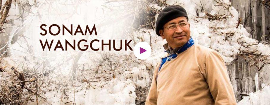 Sonam Wangchuk motivational speaker
