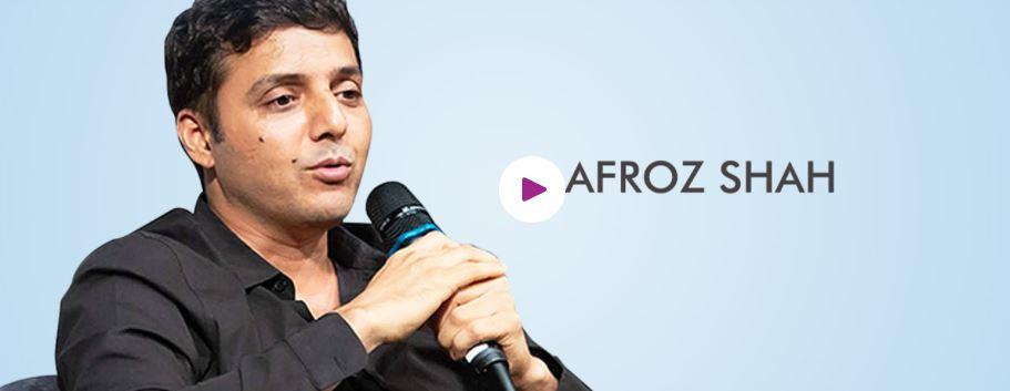 Book Hire motivational speaker Afroz Shah