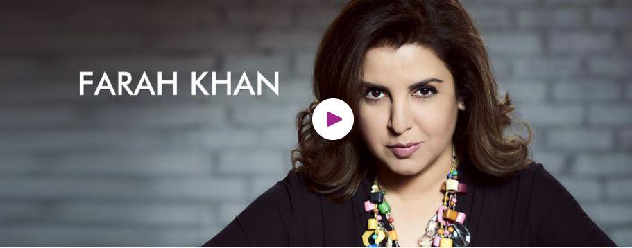 Book Hire Motivational speaker Farah Khan