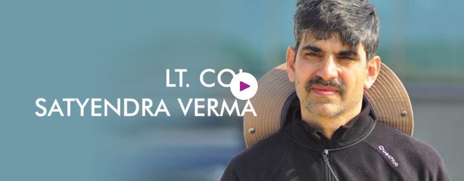 hire Book Motivational speaker Lt Col Satyendra Verma