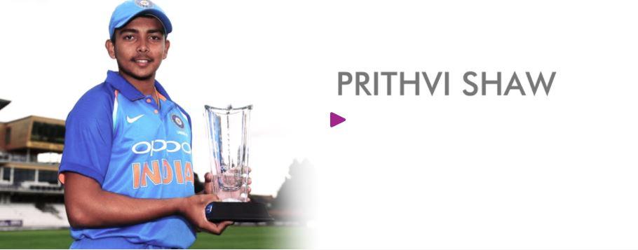 Book Hire motivational speaker Prithvi Shaw