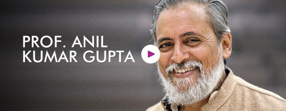 Book Hire motivational speaker Prof Anil Gupta