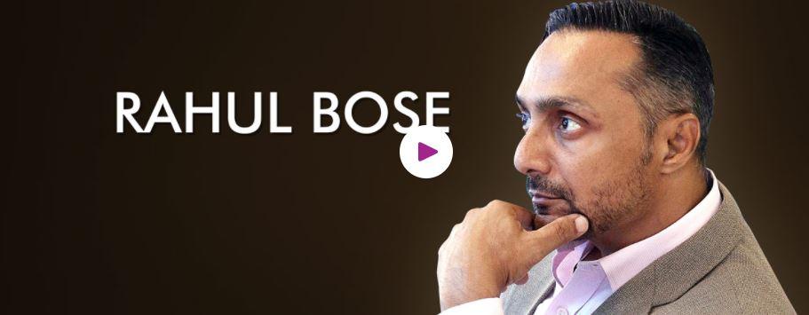 Hire Book Motivational speaker Rahul Bose