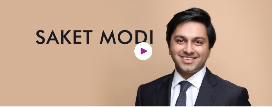 Book Hire Motivational speaker Saket Modi