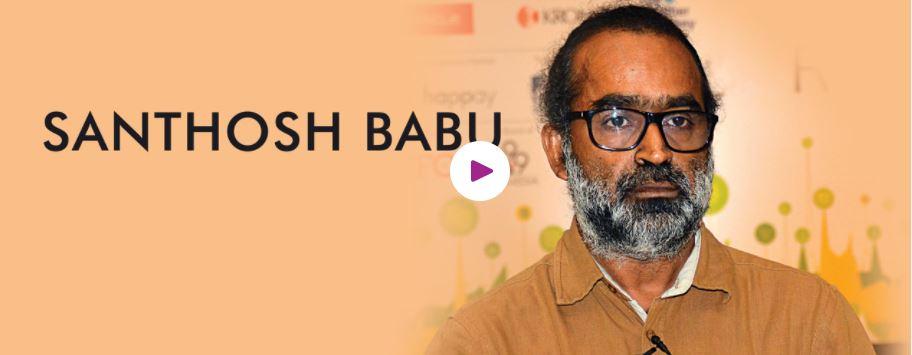 Book hire motivaional speaker Santhosh Babu