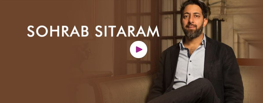 Book Hire Motivational speaker Sohrab Sitaram
