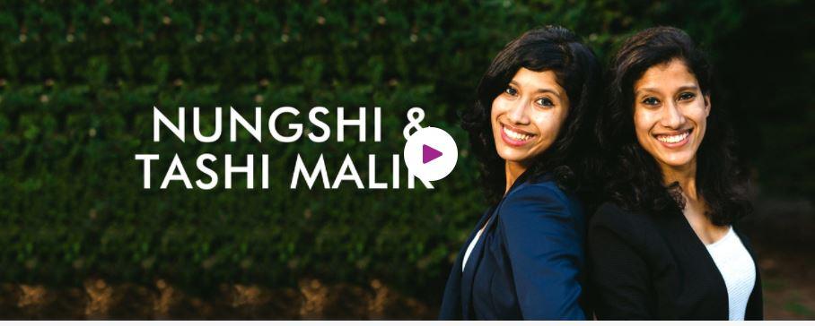 Book Hire motivational speaker The Malik twins (Tashi and Nungshi)