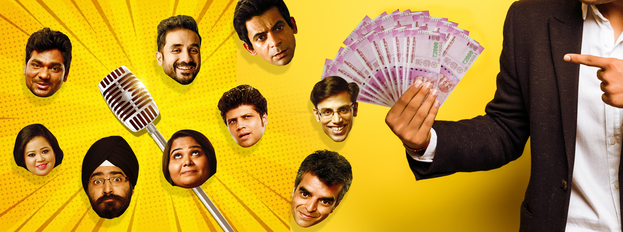 Budget for hiring comedian in India for corporate event